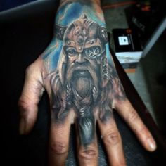 60 Odin Tattoo Designs For Men - Norse Ink Ideas Celtic Tattoo Symbols, Norse Tattoo, Celtic Tattoos, Viking Tattoos, Hand Tattoos For Guys, Tattoos For Women, Herren Hand Tattoos, Face Tats, Picture Tattoos