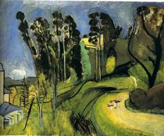Montalban, Landscape, 1918 / Henri Matisse