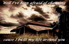 #Dixie Chicks #Country Lyrics, so hard when you build your life around someone who is no longer here, missing you girl, hoping your in a better place