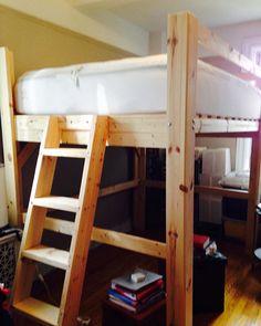 feed_image queen loft bedsbunk - Loft Bed Frame Queen