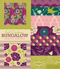 Fat Quarter Bundle - Joel Dewberry - BUNGALOW Bramble Palette - Free Spirit Fabric - 12 FQs