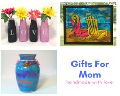 Mother's Day Gifts, Colorful Home Decor she will love!!