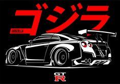 Godzilla GTR Rocket Bunny
