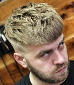 20 Classic Caesar Haircut Styles for Men to Try - Best Hair Colors Mens Medium Length Hairstyles, Quiff Hairstyles, Popular Hairstyles, Cool Hairstyles, Natural Hairstyles, Fringe Haircut, Fade Haircut, Haircut Men, Haircut Styles