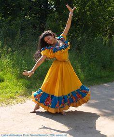 Gipsy Dance Lyali Moldavian. Photo