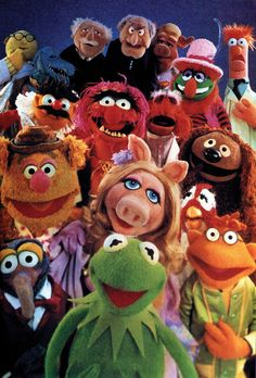 The Muppets.  They are a huge part of my childhood and I will never stop loving them! :)  I'm so happy they had a new movie out to show the new generation of kids.  They have a great message about love and diversity. :)