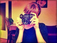 Z moim zabytkowym aparatem