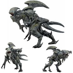 """It's The Pacific Rim 7"""" Ultra Deluxe Action Figures - Kaiju Mutavore. Just when the world thought that the alien invasion was over, this Category IV kaiju emerged from the breach and easily broke thro"""