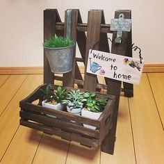 Diy Home Crafts, Diy Arts And Crafts, Garden Crafts, Easy Crafts, Popsicle Stick Crafts, Craft Stick Crafts, Wood Crafts, Diy Fairy Door, Minis