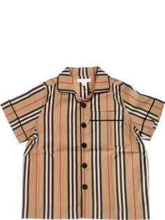 9c4b070cf Burberry Striped Print Shirt | SALE - KIDS | Printed shirts, Shirts ...