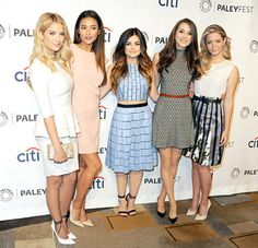 The cast of #PLL were stunning at #PaleyFest2014.  Who's look was your favorite?
