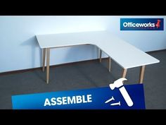 Learn how to assemble the Copenhagen Corner Workstation. The Copenhagen Corner Workstation has a sleek and modern design with a large desk top so you have pl. Corner Workstation, Corner Desk, Large Desk, Copenhagen, Scandinavian, Modern Design, Zip, Inspired, Stuff To Buy