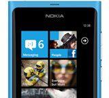 Nokia Lumia 800 running Windows Phone 7.5 Mango