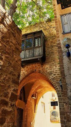 Street in Jaffa Old Town