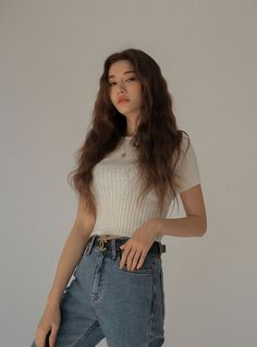 Style Ulzzang, Mode Ulzzang, Ulzzang Girl, Korean Girl Fashion, Ulzzang Fashion, Asian Fashion, Estilo Beatnik, Girl Photography Poses, Korean Outfits