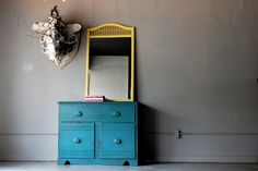 Waxing tutorial for painted furniture.