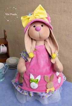 1 million+ Stunning Free Images to Use Anywhere Easter Crafts, Fun Crafts, Sans Art, Free To Use Images, Cute Bears, Felt Dolls, Fabric Dolls, Hobbies And Crafts, Easter Bunny