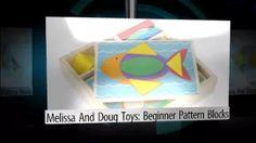 Melissa & Doug Toys: Beginner Pattern Blocks - YouTube Melissa & Doug, Pattern Blocks, Tech Logos, Toys, Youtube, Toy, Games, Youtubers, Youtube Movies