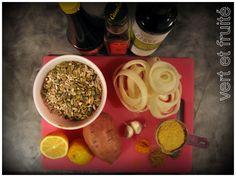 Végé-pâté aux graines de tournesol et de citrouille | vert et fruité