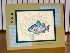 Gone Fishin' by Christy S. - Cards and Paper Crafts at Splitcoaststampers