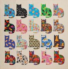 free cat quilt patterns - Google Search