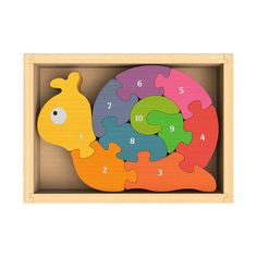 BE-I1202 Number Snail Puzzle