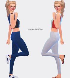 Simlife: Set of leggings • Sims 4 Downloads