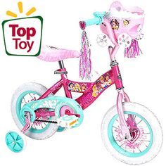 "Huffy Disney Princess 12"" Girls' Bike, Pink"