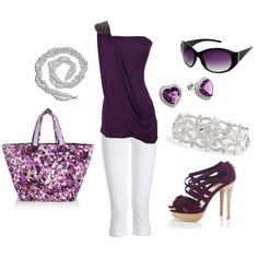 Eggplant, created by deborah-simmons on Polyvore