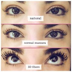 Make the switch today. 3D fiber lashes are so worth it. I am so glad I got mine, I fell in love!
