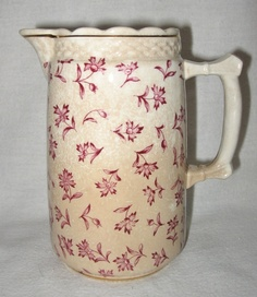 19th Century Imperial China Transferware Pitcher  NOT AVAILABLE
