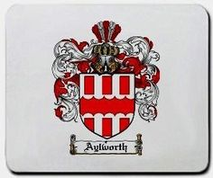 Aylworth Family Shield / Coat of Arms Mouse Pad $11.99