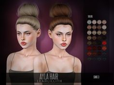 Ayla Hair Found in TSR Category 'Female Sims 3 Hairstyles' Sims 4 Tsr, My Sims, Sims Cc, Sims 4 Mods Clothes, Sims 4 Clothing, Sims 4 Game Mods, Sims Mods, Sims 4 Seasons, Teen Hairstyles