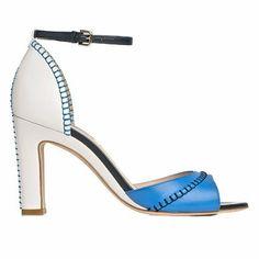 Blue sandal by LK Bennett   Heeled Shoes   Fashion Trend   Red Online