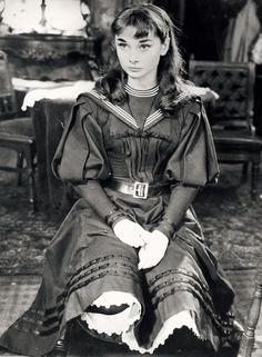 Audrey Hepburn in Gigi, 1951