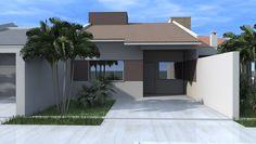 Bungalow House Design, Plans, Arch, Garage Doors, Outdoor Decor, Home Decor, House Template, New Houses, Apartments