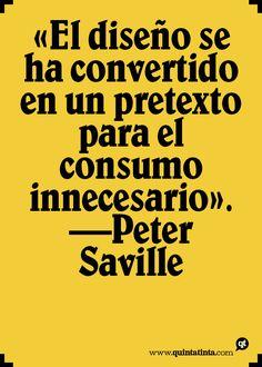 Una frase de Peter Saville.