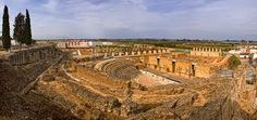 Resultado de imagen de anfiteatro italica santiponce