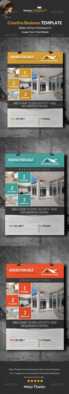 Real Estate Flyer Template PSD | Buy and Download: http://graphicriver.net/item/real-estate-flyer-template/8635205?WT.ac=category_thumb&WT.z_author=wigbig25&ref=ksioks