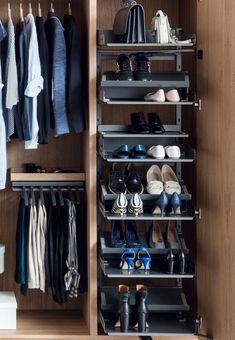 15.831.A - Nadstawiana półka Pleno 450/ antracyt - Peka Closets, Shoe Rack, Bedroom, Home Decor, Home, Armoires, Decoration Home, Fitted Wardrobes, Room Decor