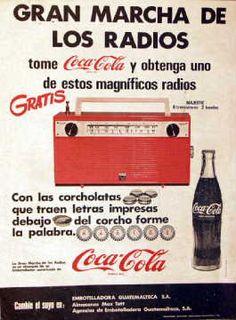 GRAN MARCHA DE LOS RADIOS - @coca_cola 1968 #vintage vía @Flashvio