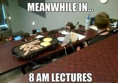 Breakfast In Class ---- hilarious jokes funny pictures walmart fails meme humor Funny Shit, The Funny, Funny Cute, Funny Stuff, Funny Humor, Lol, Look At You, Just For You, By Any Means Necessary