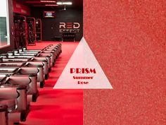PRISM is EPDM rubber and cork flooring for athletic and multi-purpose use. The bright, bold colors, will add fun to any space! #prism #prismacolor #prismpalette #prismcolor #prismacolors #red #reddecor #redfloor #redflooringdesigns #redflooring #redfloors #redfloorgallery #redfloordesign #redfloormats Gym Design, Floor Design, Framing Effect, Red Floor, Fitness Facilities, Cork Flooring, Recycled Rubber, Flooring Options, Carpet Tiles