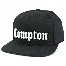 Boné Verse Compton Snapback Preto