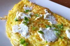 Basil-Ricotta-Omelette