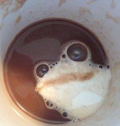 Frog cappuccino Foam