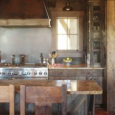 Recycled Wood Kitchen Cabinets | ... Kitchen: Eco-friendly Remodeling Options | Pfister Kitchen & Bath Blog