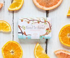 Hand in Hand (the company that donates one bar of soap to a child in need with every bar purchased) recently added three new designs to their line of Sustainable Suds.    You may recall the original design featured in 2011. The new packaging was art directed and designed by Joy Deangdeelert Cho of Oh Joy who worked with illustrator Emma Block to convey her vision. The soaps are available on Hand in Hand's website and will also be sold at Anthropologie stores nationwide.