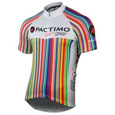 House - Men's Designer Cycling Jersey - Rainbow - Pactimo