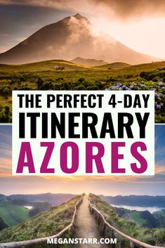 4 Days in Azores Itinerary: The Perfect Trip to Sao Miguel Portugal Travel Guide, Europe Travel Guide, Europe Destinations, Travel Guides, Travel Abroad, Visit Portugal, Spain And Portugal, Ponta Delgada, European Travel